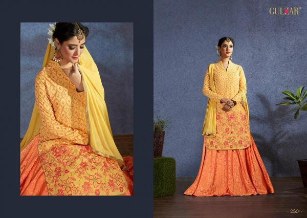 Gulzar Celebration Wear 2101-2106 Series
