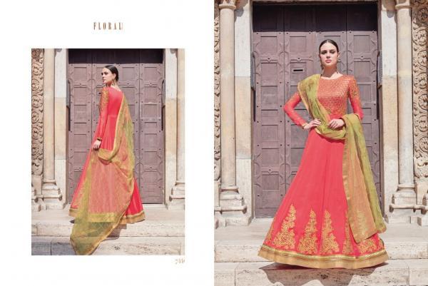Jinaam Dress Floral Nazma 7441 7447 Series