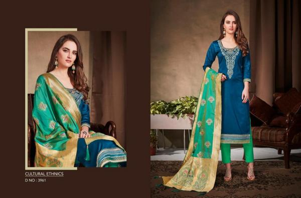 Kessi Fabric Virasat Vol-2 3961-3970 Series