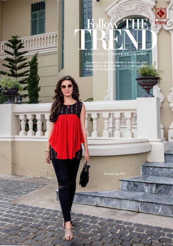 Kianaa Fashion Trendy Tops Vol-1 001-008 Series