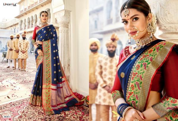 Lifestyle Saree Sarthi 58301-58312 Series