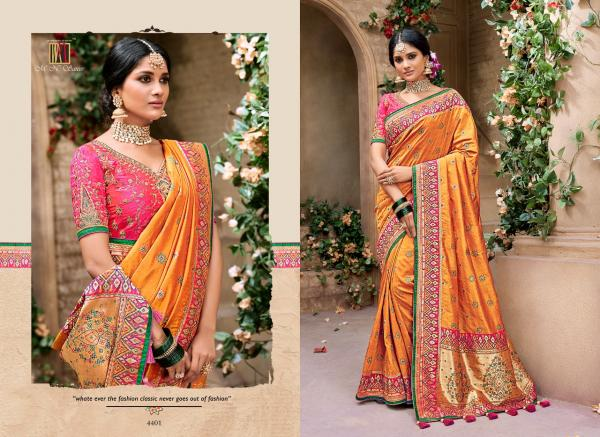 MN Sarees Resham Dhaga 4401 4416 Series