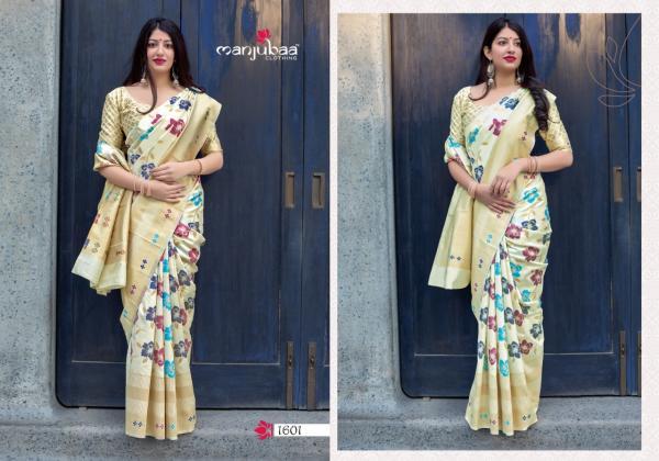 Manjubaa Clothing Mahakanta Silk 1601-1610 Series