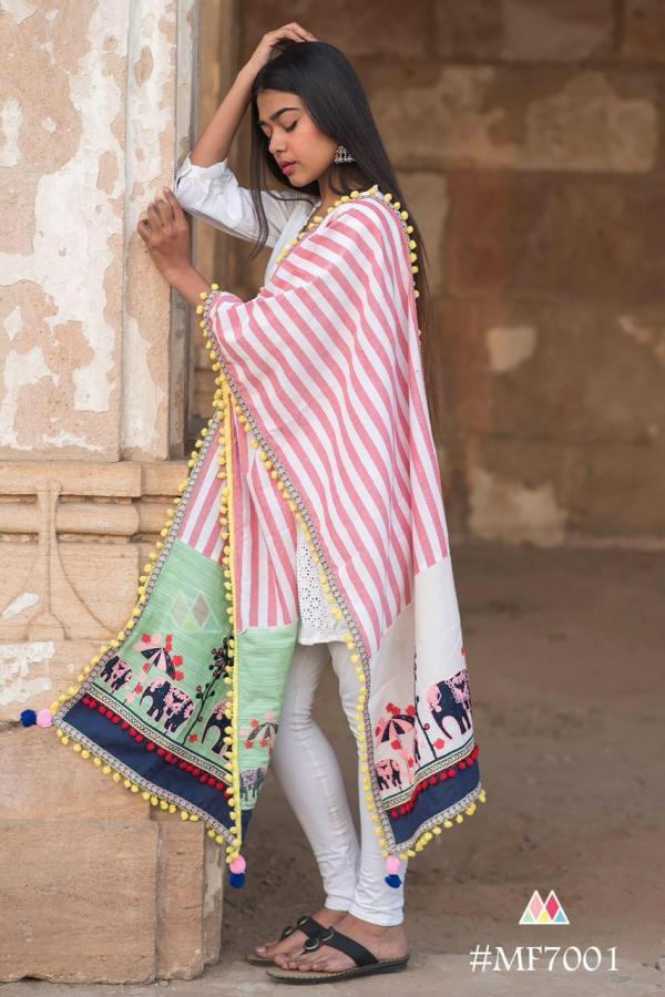 Mesmora Fashion Albeli Dupatta 7001-7014 Series