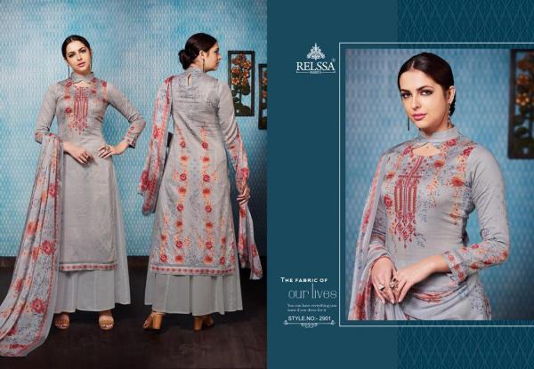 Relssa Fabrics Orchid 2901-2908 Series