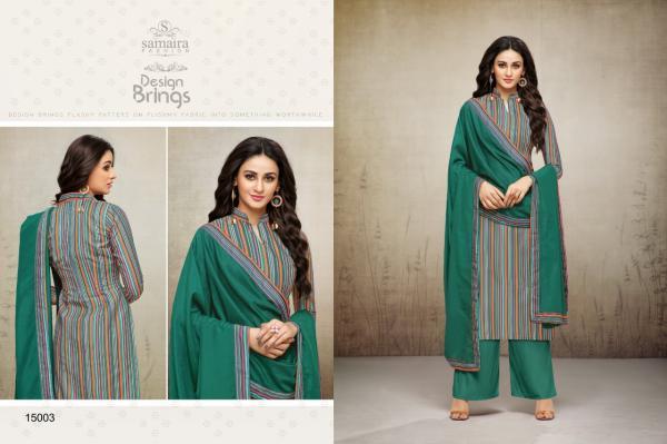 Samaira Fashion Hillary 15003 15014 Series