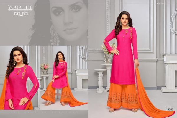 Samaira Fashion Lustre 13006 13017 Series