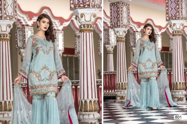 Samaira Fashion Maryam's 801 807 Series