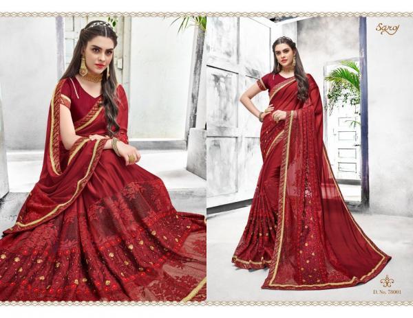 Saroj Saree Bahurani 78001-78008 Series
