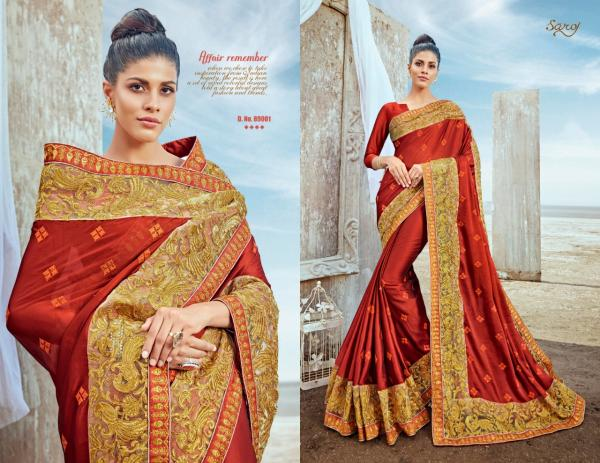 Saroj Saree Fashion Yug 89001-89006 Series