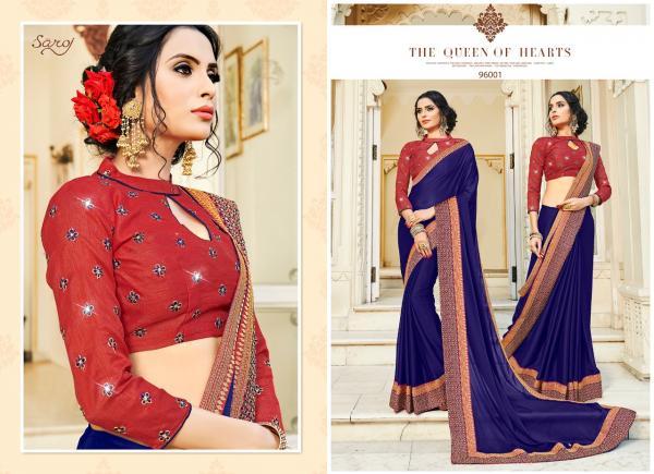 Saroj Saree Manjaree 96001-96008 Series