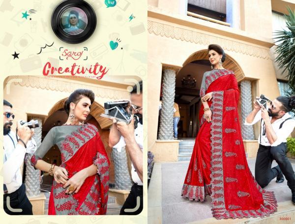 Saroj Saree Photography 300001-300006 Series