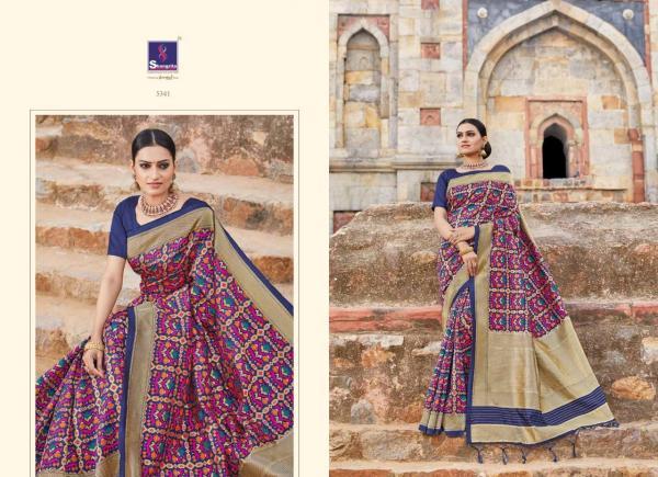 Shangrila Saree Ekaanshi Silk 5341-5350 Series