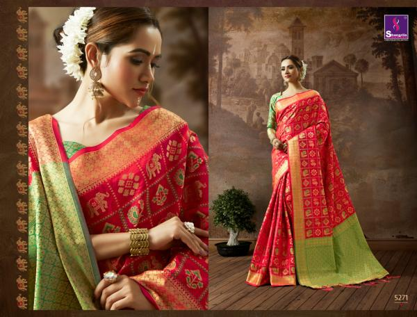 Shangrila Saree Patan Silk 5271-5275 Series