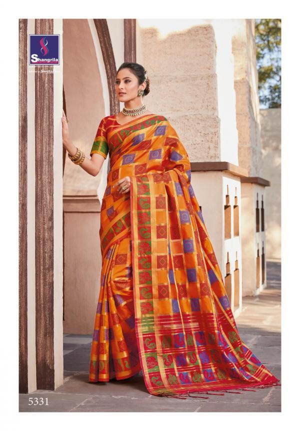 Shangrila Saree Yashwi Silk 5331-5336 Series