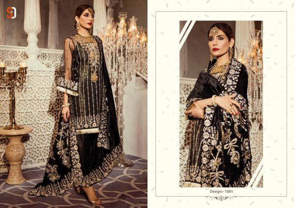 Shraddha Designer Honey Wokar Wedding Addiction 1001-1004 Series