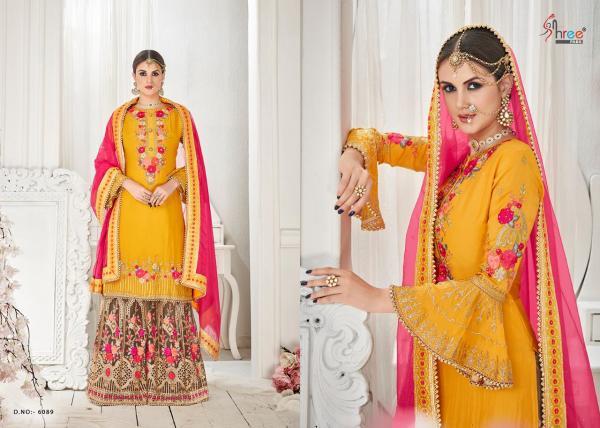 Shree Fab Shehnai Vol-18 Bridal Collection 6089-6094 Series