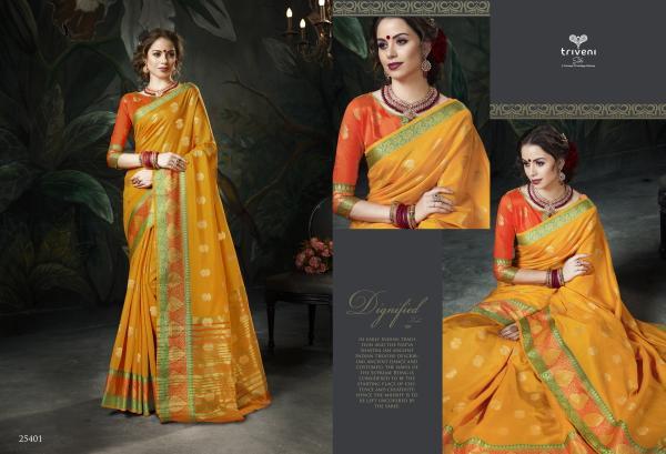 Triveni Saree Omisha 25401-25408 Series