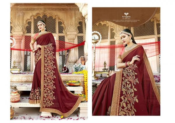 Triveni Saree Pulkita Vol-2 15713-15724 Series