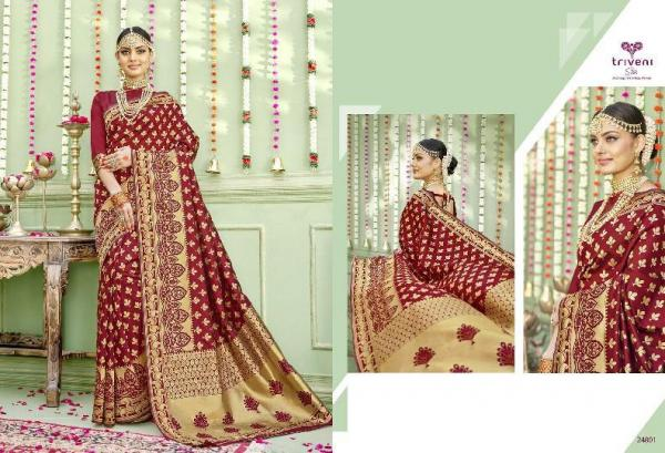 Triveni Saree Shehzadi 24801-24805 Series