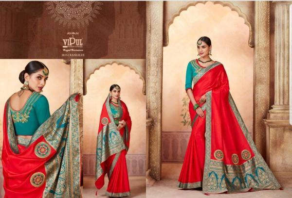 Vipul Fashion Regal Romance 38151-38159 Series