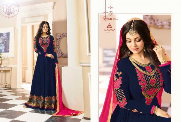Aarav Trendz Afreen Platinum 115 Colors