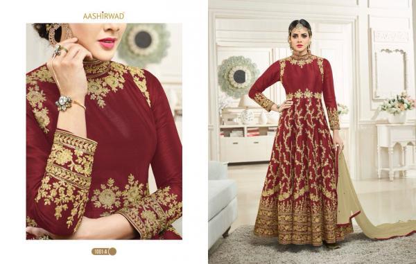Aashirwad Creation Simran Gold 1001A 1001E Series