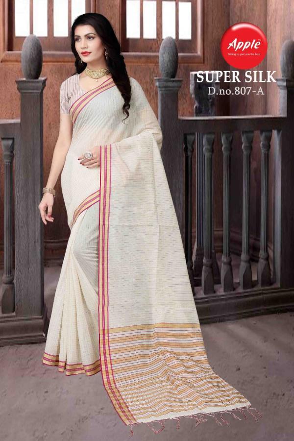 Apple Saree Super Silk 807A 808F Series