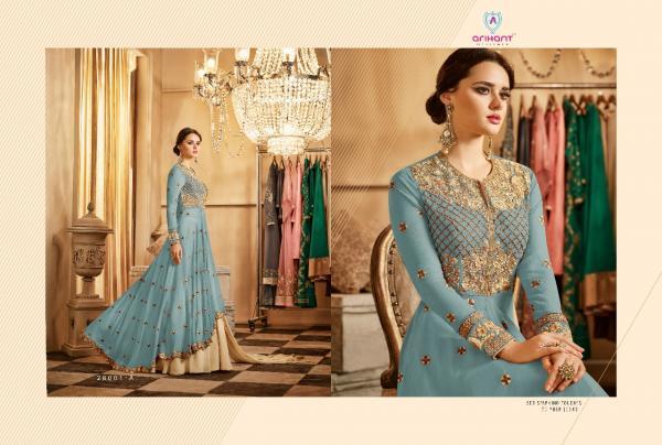 Arihant Designer Aadhvinna Gold 28001A 28001D Series