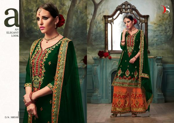 2359843e9f Dulhan Gold Bridal Collection Suits By DEEPSY SUITS 1003 Color ...