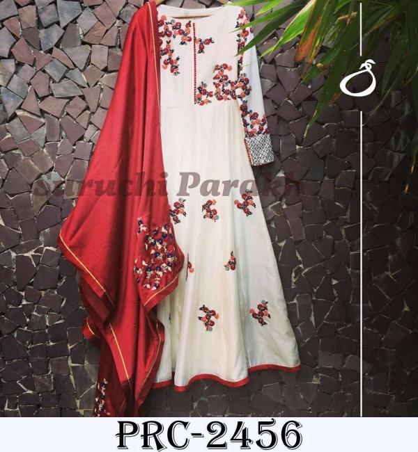 Designer Elegant Gown PRC 2456