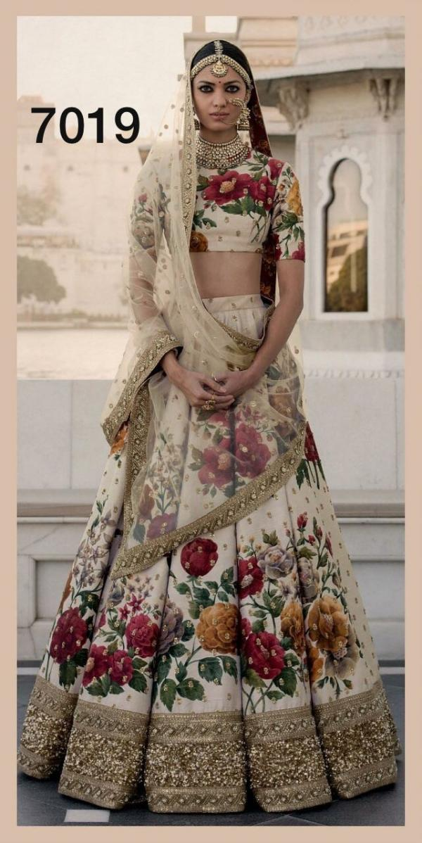 Designer Wedding Lehenga 7019