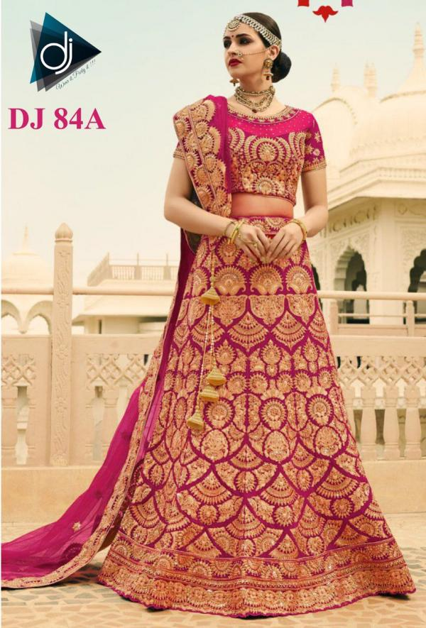 DJ Bridal Wear Lehengas DJ 84A DJ 88A Series