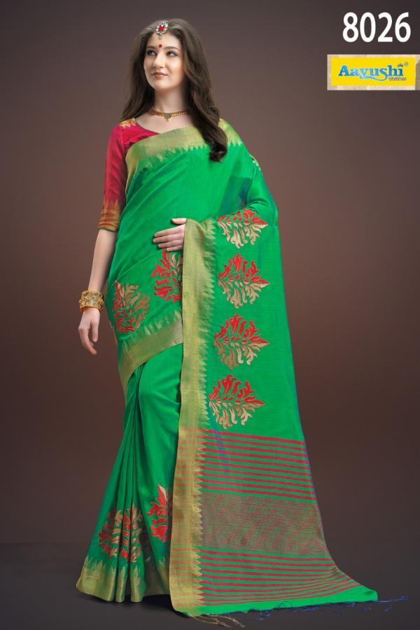 Aayushi Sunheri Plus 8026 8033 Series