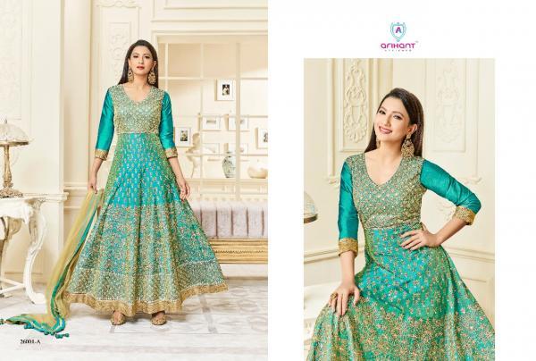Arihant Designer Hayat Gold 26001A 26001E Series