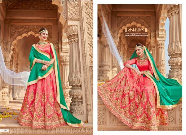 Designer Lehenga Rang Rasia 1027 1034 Series