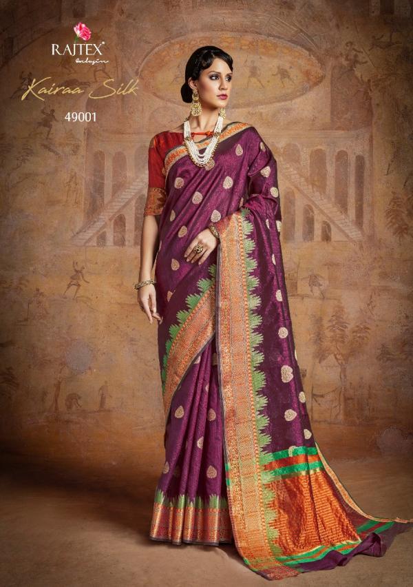 Rajtex Saree Kairra Silk 49001 49010 Series
