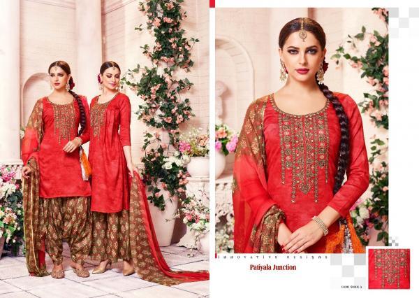 Sargam Prints Patiyala Junction 50101 50106AB Series