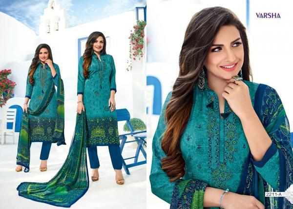Varsha Fashion Nimayaa 2211 2215AB Series