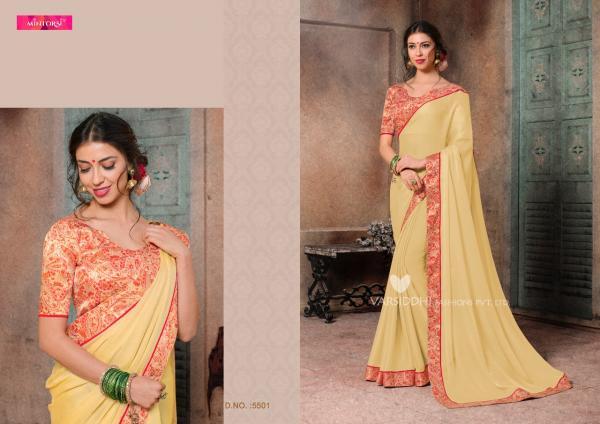 Varsiddhi Fashions Mintorsi Kavyanjali 5501 5508 Series