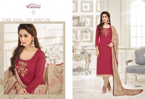Vishnu Impex Noureen Vol 6 55001 55012 Series