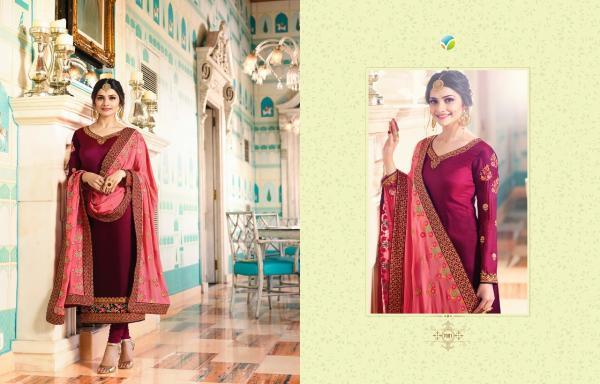 Vinay Fashion LLP Kaseesh Mumtaz 7081 7087 Series