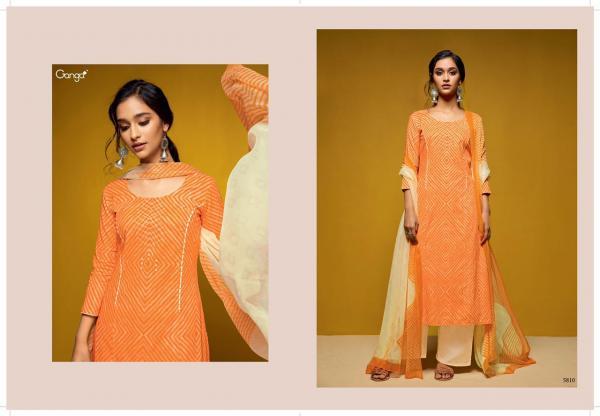 Ganga Colors 5810 5818 Series