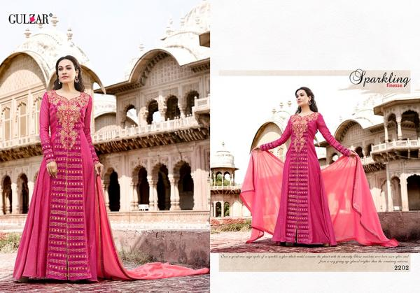 Gulzar Suits Collection 2201 2208 Series