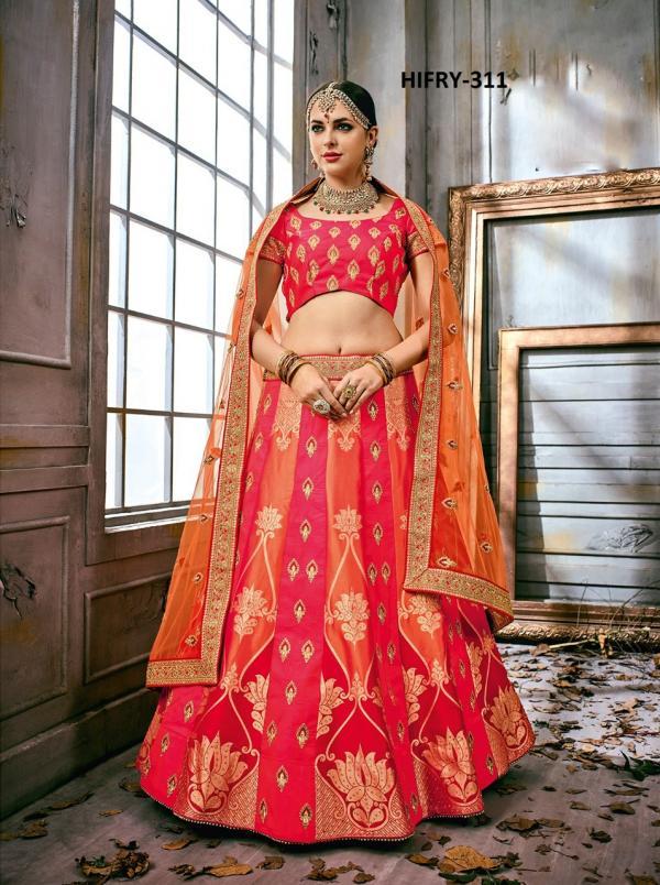 Hitansh Fashion Fairy Designer Lehenga H 311 H 318 Series