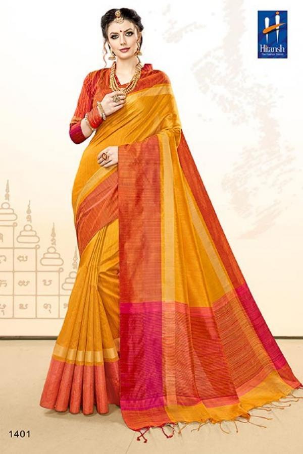 Hitansh Saree Radhika 1401 1410 Series