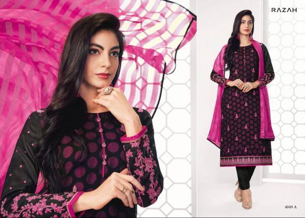 Jinaam Floral Razah Ramya 4049A 4054B Series