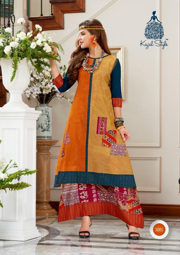 Kajri Style Diva Vol 3 3001 3008 Series