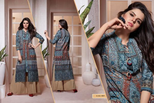 Kajree Fashion Empire Of The Moghul 421 432 Series