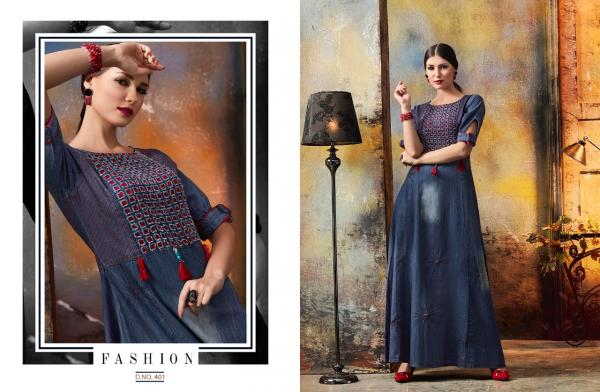 Kajree Fashion Blue Lee 401 412 Series